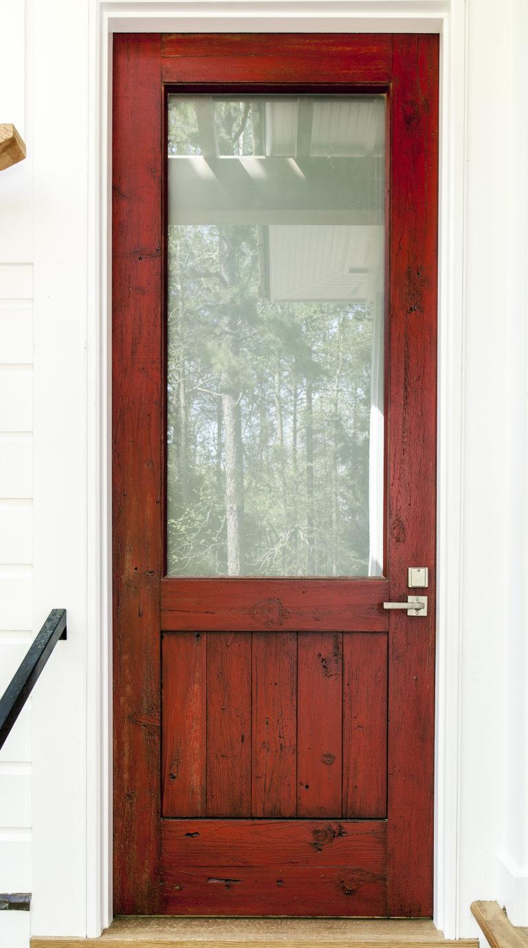 Red Exterior Door2